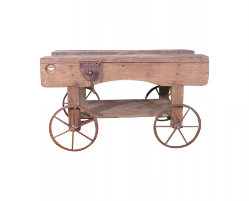Vintage Wooden Workbench for Hire