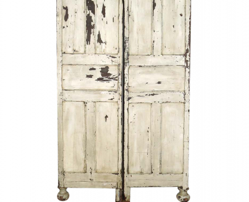 Vintage White Painted Panels for Hire