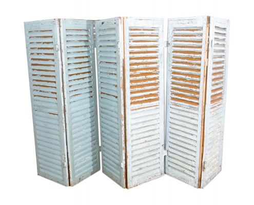 Distressed French Shutters for Hire