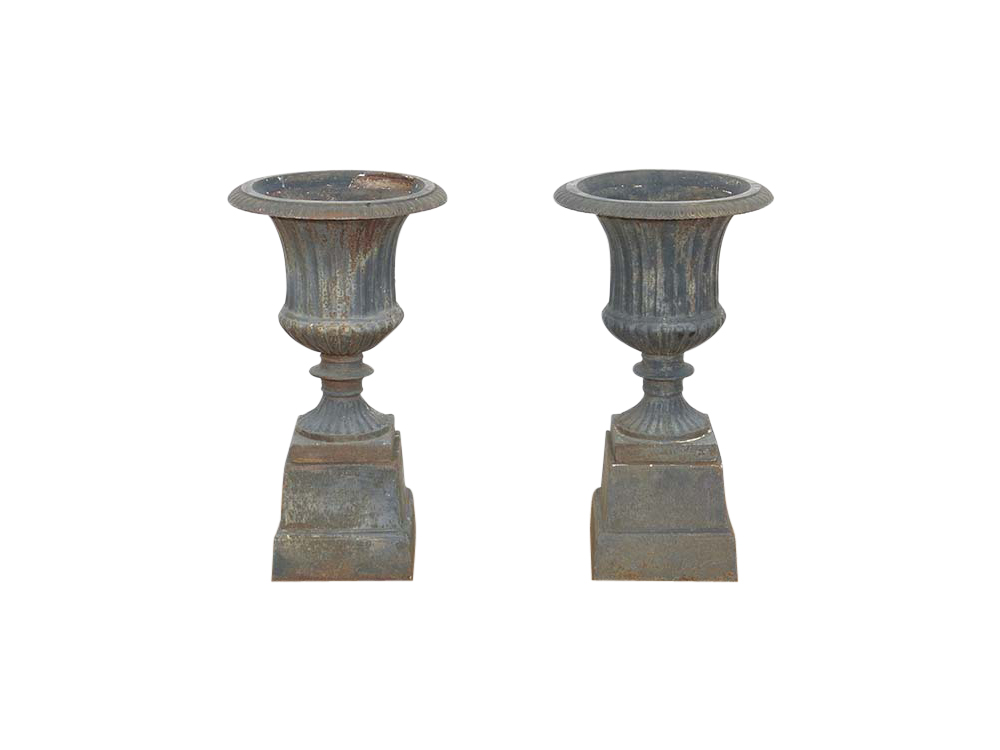 Cast Iron Vintage Urns for Hire Devon, South West