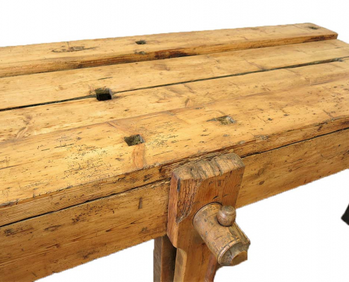 Vintage Workbench for Hire Scotland