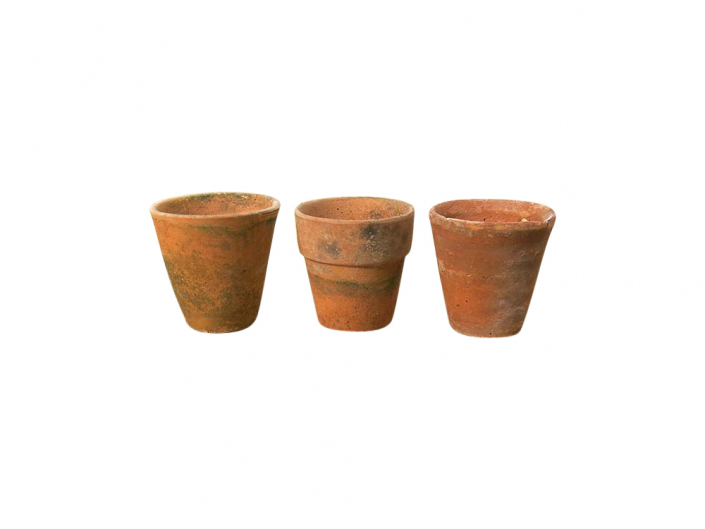 Vintage Terracotta Pots for Hire Devon, South West