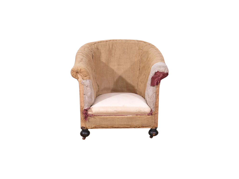 Vintage Unfinished Chair for Hire