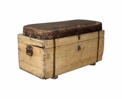 Vintage Wooden Chest for Hire