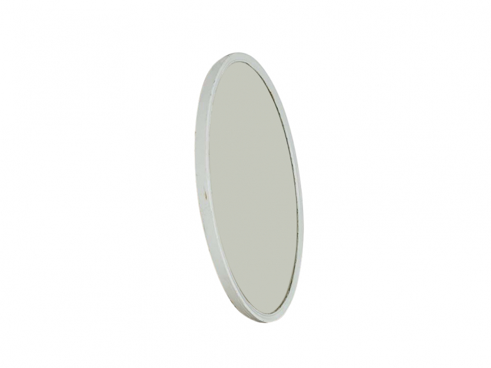 Vintage Oval Painted Mirror for Hire