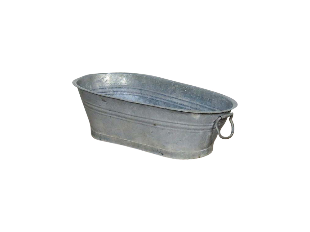 Vintage Zinc Bath for Hire Scotland