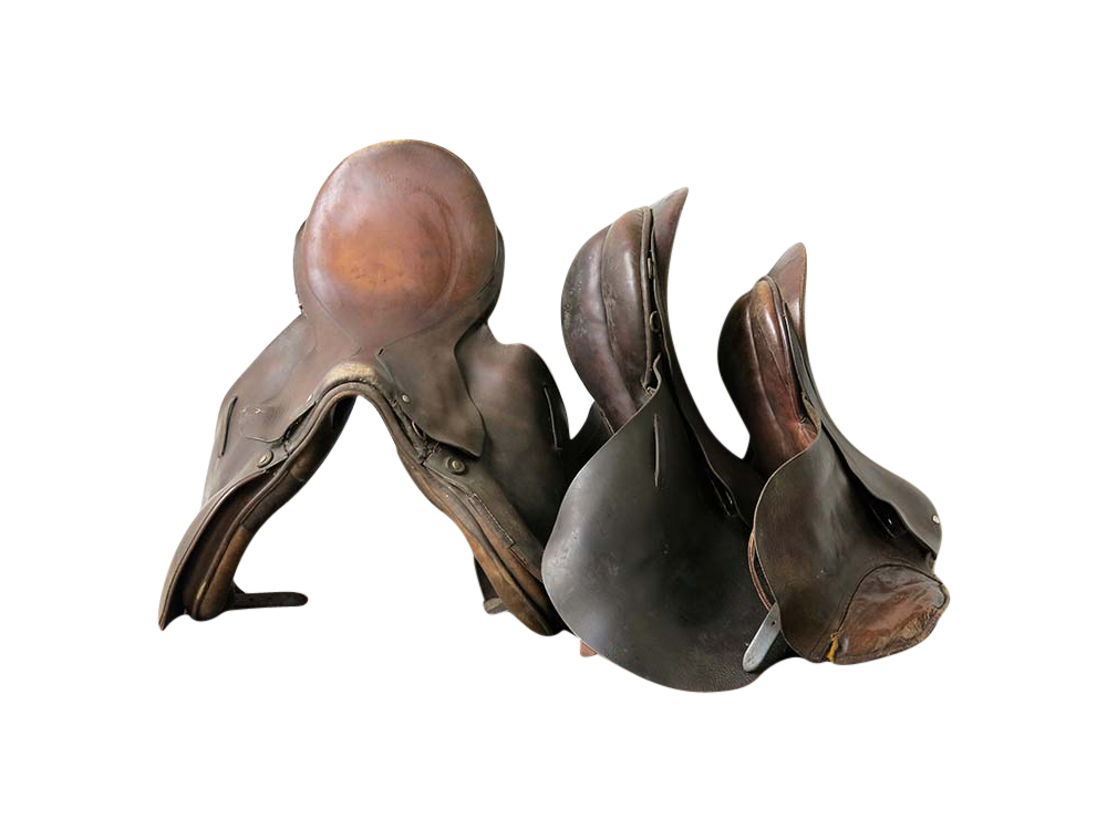Old Leather Saddles for Hire Scotland