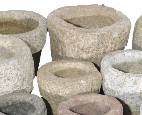 Antique Stone mortars for Hire