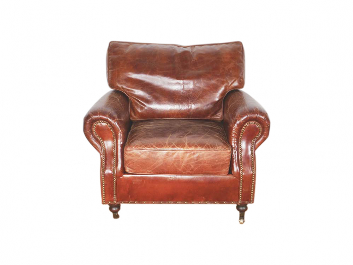 Brown Leather Armchair for Hire | South West, Devon, Somerset