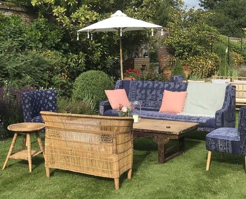 Scandi style sofa for Hire Devon, South West