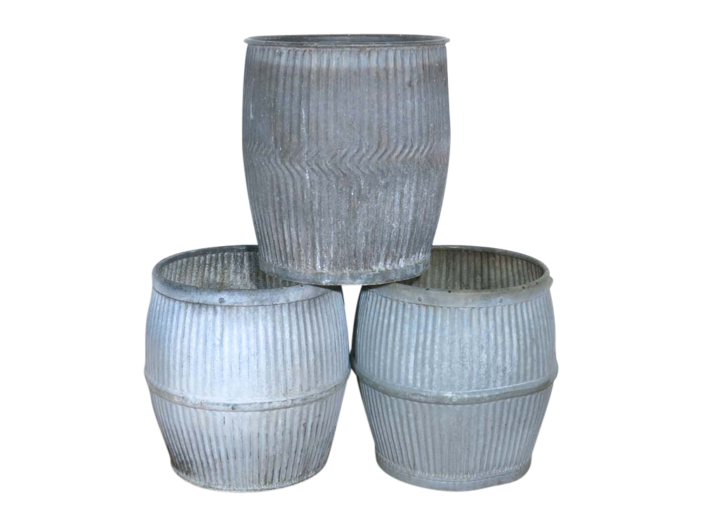 Vintage Galvanized Tubs for Hire Scotland