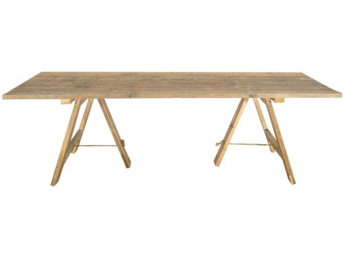 Vintage Trestle Table for Hire Devon, South West