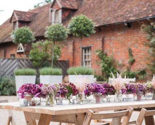 Wooden Trestle Tables for Hire London