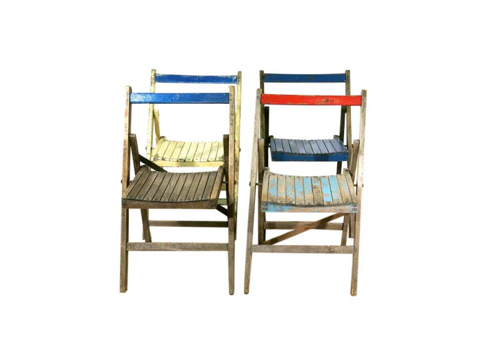 Vintage Distressed Chairs for Hire Devon. South West