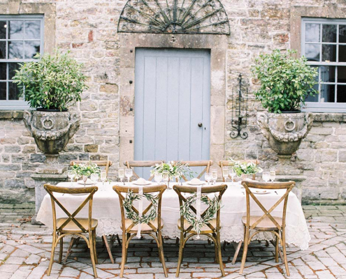French Cross Back Chair for Hire Somerset, South West