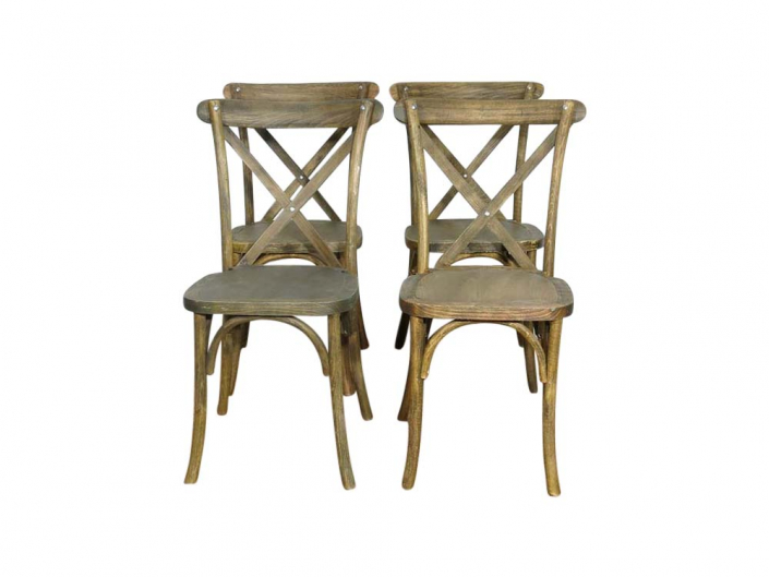 French Cross Back Chair for Hire Devon, South West
