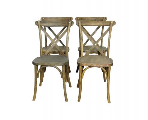 Cross Back Chair Hire London