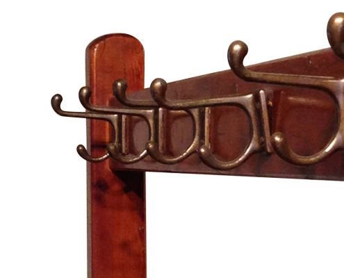 Vintage Wooden Coat Rack for Hire
