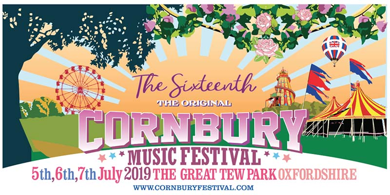 Vintage Furniture supplier to Cornbury Festival