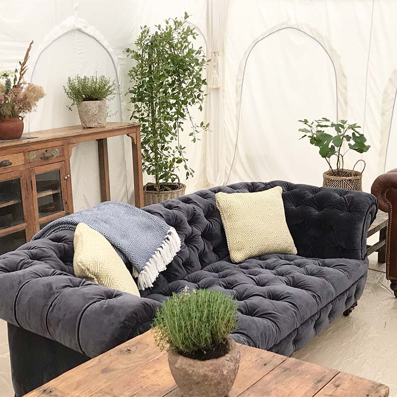 Pop Up Hotel Event Furniture Glastonbury Festival