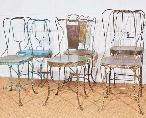 Unique Wire Chairs for Hire Bristol, South West