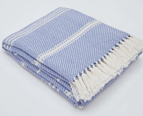 Bantham Stripe Blankets for Hire