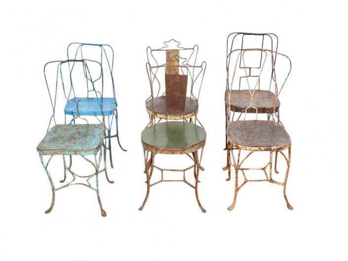 Unique Wire Chairs for Hire Devon, South West