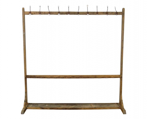 French Vintage Coat Rack for Hire