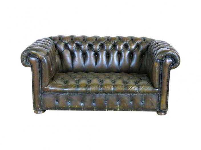 Classic Leather Sofa for Hire Scotland