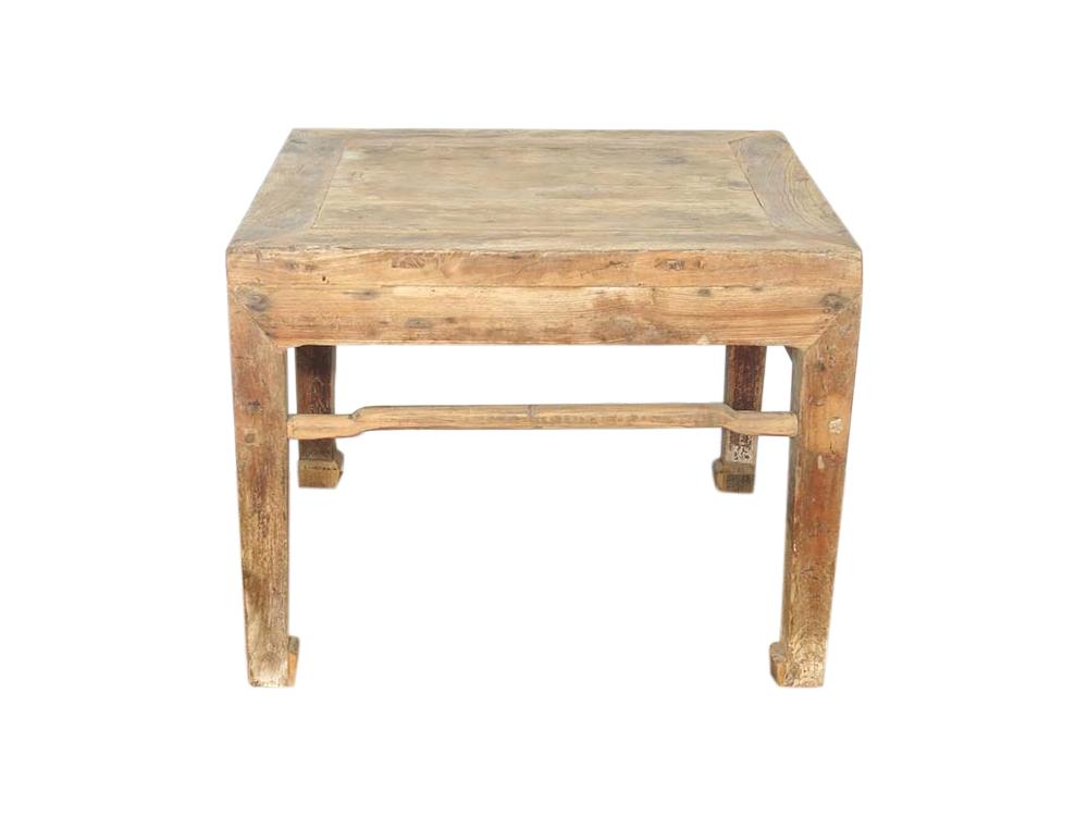 Antique Elm Side Table Hire