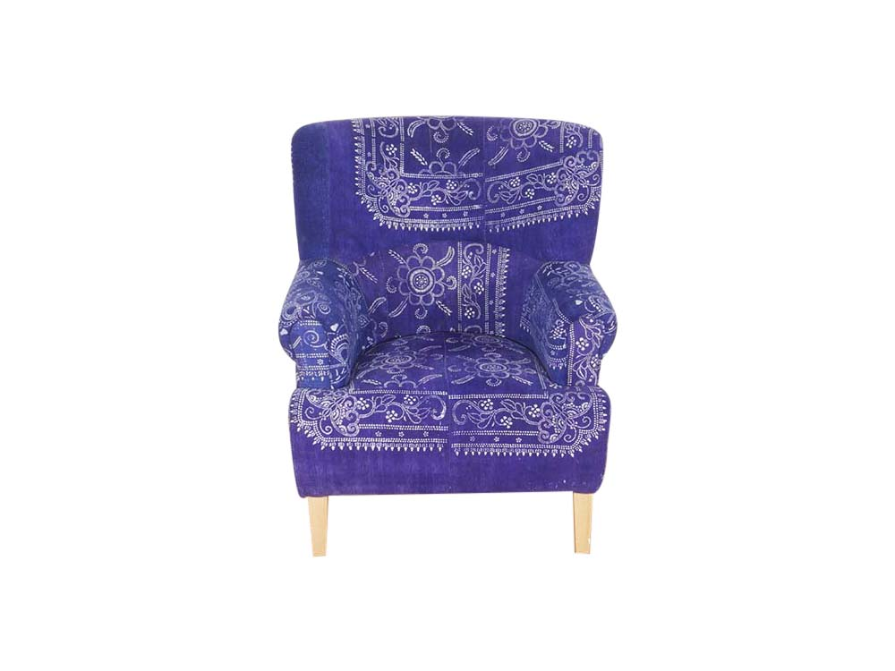 Upholstered Antique Chair for Hire Edinburgh, Scotland