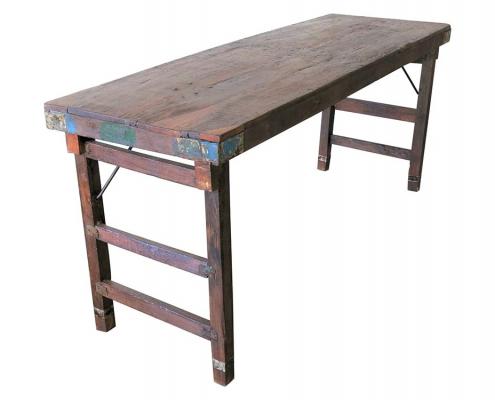 Wooden Trestle Table for Hire Edinburgh, Scotland