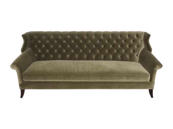 Velvet Sofa for Hire Edinburgh, Scotland
