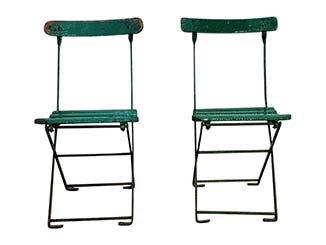 Vintage Garden Chairs to Hire Scotland
