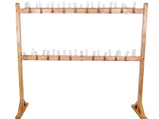 Vintage Coat Rack for Hire South East