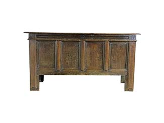 Vintage Wooden Sideboard for Hire Scotland