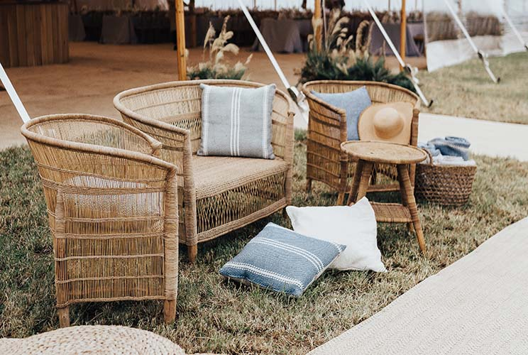 Cane Furniture Package for Hire