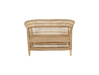Rustic Cane Sofa for Hire Scotland