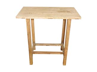 Rustic Wooden Table for Hire Scotland