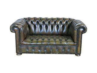 Classic Leather Sofa for Hire Scotland