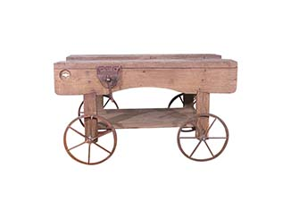 Vintage Wooden Workbench for Hire Dorset, Wiltshire