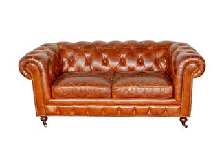 Chesterfield Sofa for Hire Edinburgh, Scotland