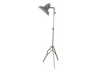 Distressed Metal Floor Lamp for Hire London, South East