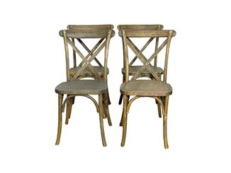 Vintage Wooden Folding Chair for Hire Devon, South East