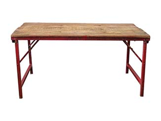 Solid Wood Trestle Table for Hire Scotland