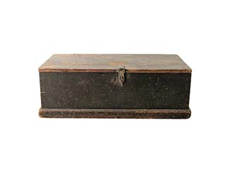 Large Wooden Trunk for Hire Scotland