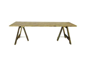 Vintage Trestle Table for Hire Scotland