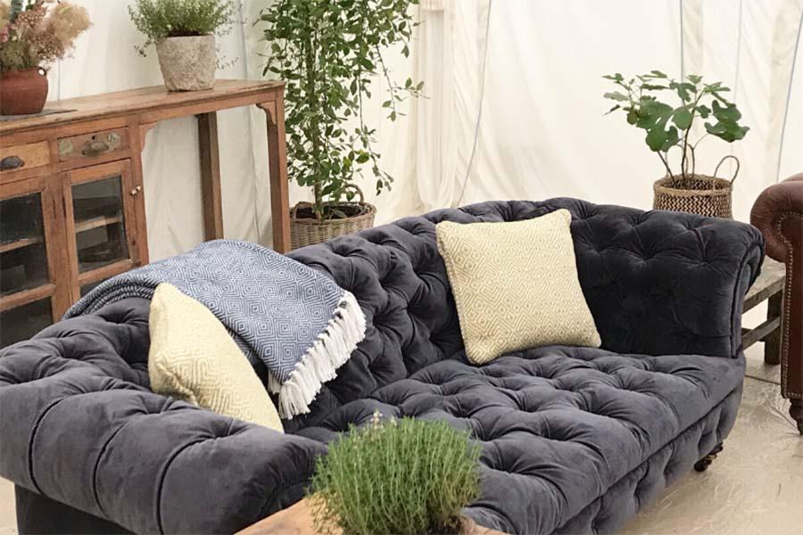 Glatonbury Festival Pop Up Hotel Furniture Hire