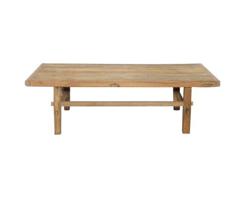 Medium Antique Elm Coffee Table