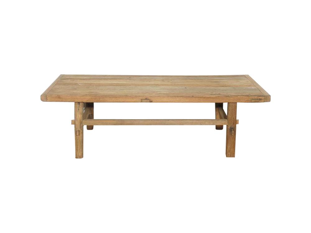 Medium Antique Elm Coffee Table